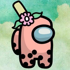 Among Us Bubble Tea Character