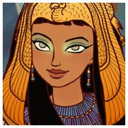 Ancient Egyptian dress up game