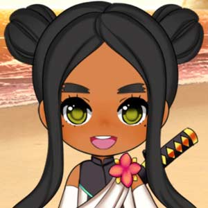 Kawaii chibi girl