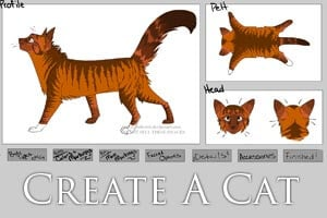 Create a Cat Warrior Cat Maker