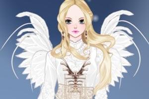 Fallen Angel Dress Up Game