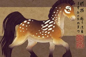 Fantasy horse maker animal dress up