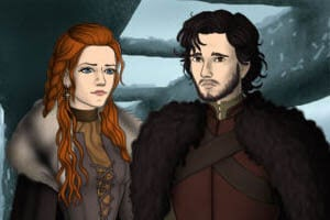 Game of Thrones Scene Maker ~ dress up game based on the