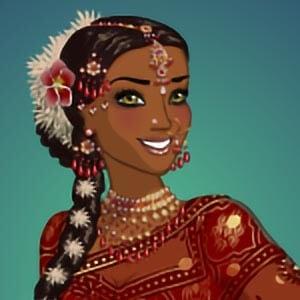 Sari design Indian fashion dress up game