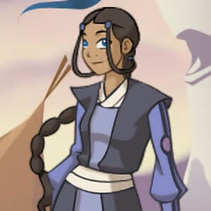 Dress up Katara from Avatar
