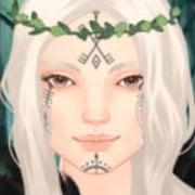 Medieval Viking woman