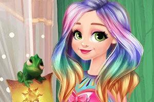 Elsa and Ariel