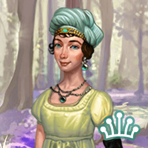 Dress up Bella in regency gowns