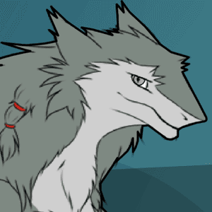 Mysterious grey sergal