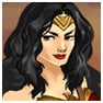 Wonder Woman with tiara