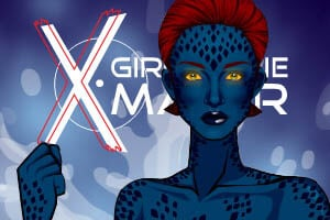 X Girl Comic Mutant Dress Up
