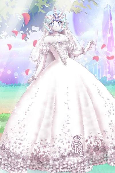 Moon Elf Bride By Pinkrobin