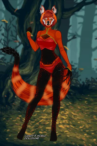 Roter Teufel   Red Panda Inspired ~ Their name means red devil. They were fo