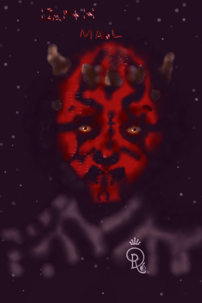 Darth Maul ~ So I have not been making a lot of dolls