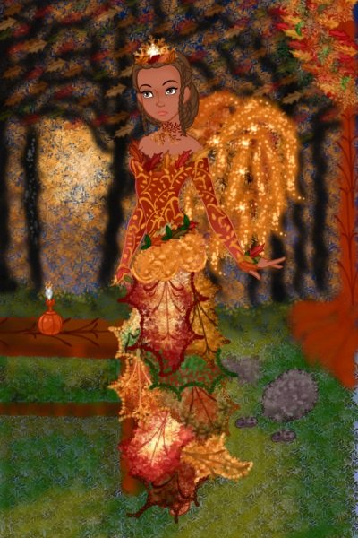 Fall Fairy ~ So here is my entry for the fairy theme.