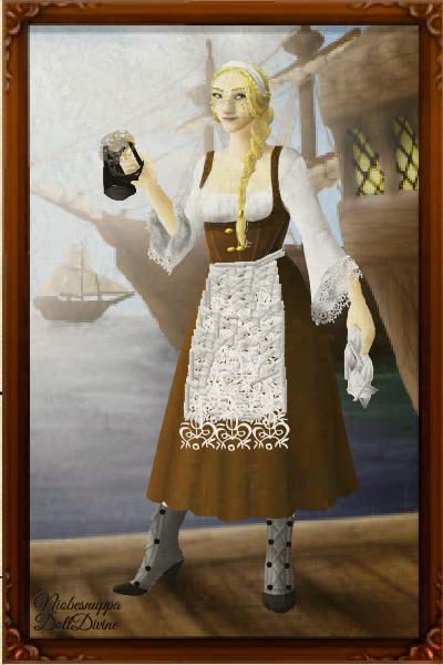 Tavern Wench By Niobesnuppa