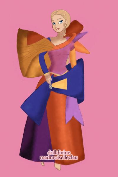 Barbie Rapunzel Painted Dress 4 By Shinymist
