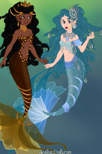 Mermaid adoptables 9 and 10 ~ You can adopt, no matter you adopted a m