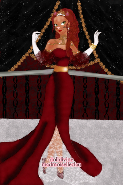 Cat Queen by SweetBlueMint3 ~ This wasn't made by me!!! All crowns and