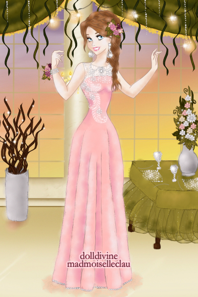 DDNTM 4th round: Bridget Terrence~Prom!  ~ Since I was very busy, I couldn't make m