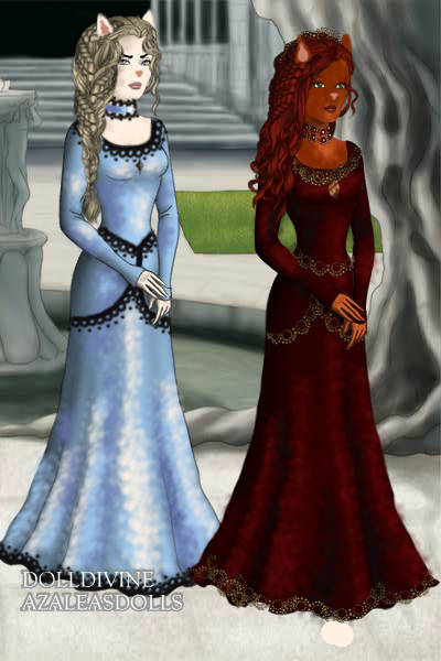 The Queen and the Countess ~ I was just messing around with the LotR