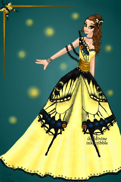 Anise swallowtail butterfly ~ I'm super proud of this dress. I actuall