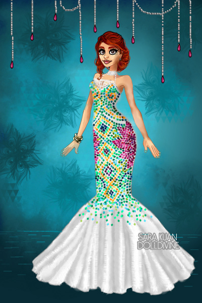 Mosaic dress 2.0 ~ A sequel to <a href=http://www.dolldivin