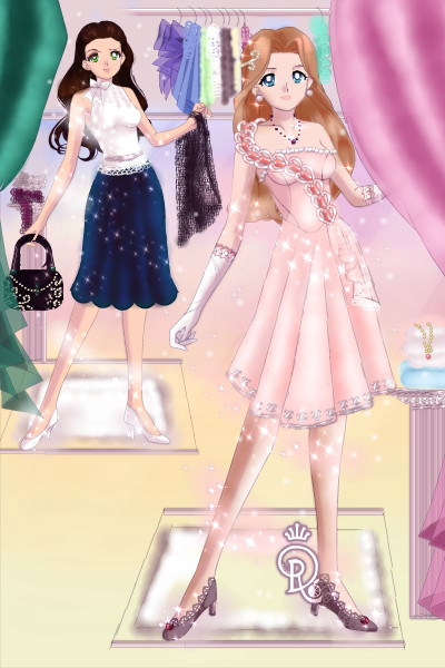 Valentina and Louise shopping ~ For once it's not Laberdia. XD This is a