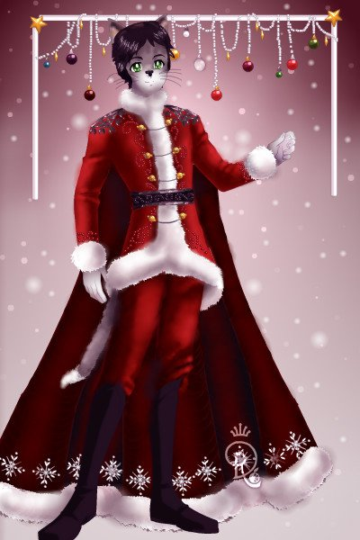 Santa Claus is coming to town ~ Next one in my series is Tom, Hera's boy