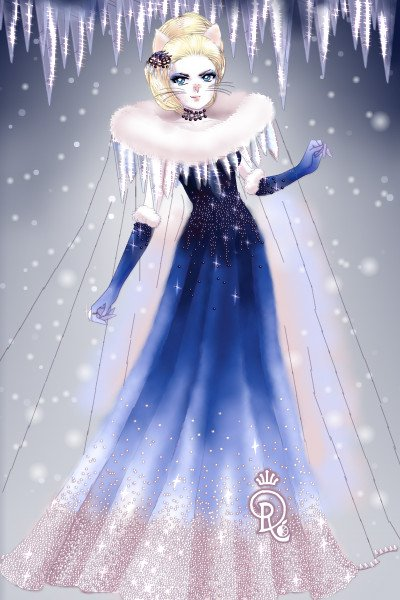 Icicle Queen ~ It's almost February and I'm still posti