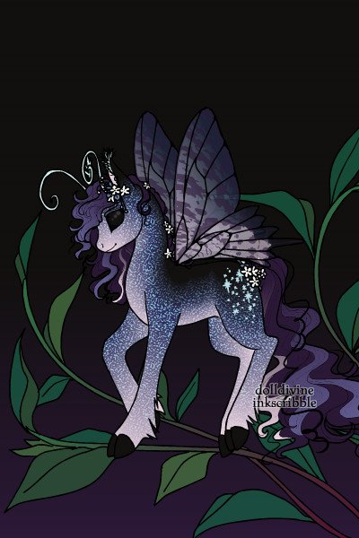 Horsebug of the Night Sky ~ Trying out the maker. It's SO adorable!!
