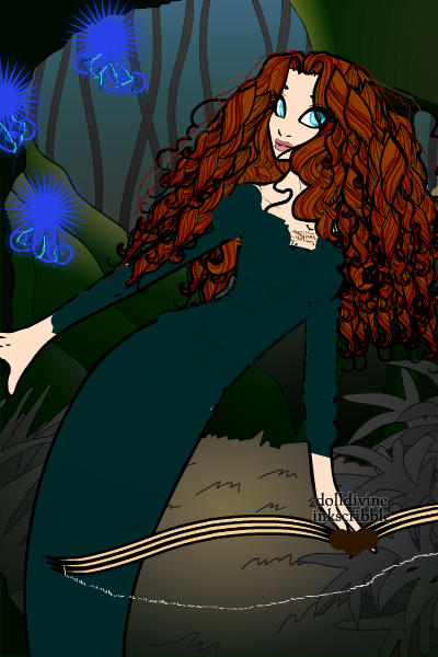 Another Merida ~ Following the Wisps.