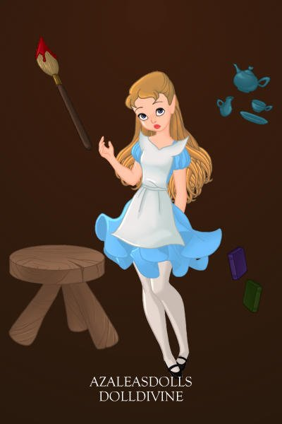 Alice In Wonderland Hole ~ Falling down the hole to Wonderland