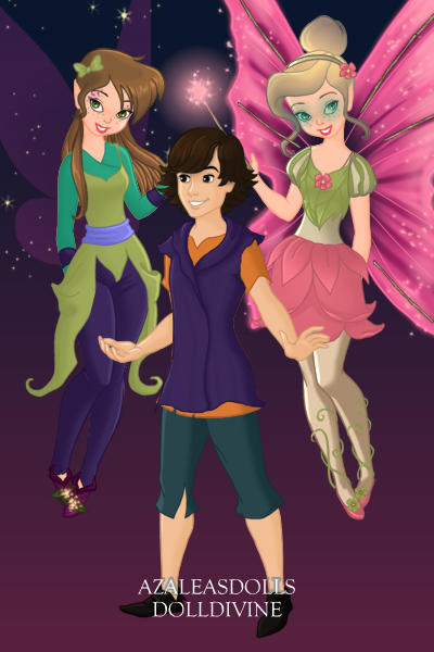 Fairies in disguise RP ~ Marly is the brunnete, Dylan is the boy,