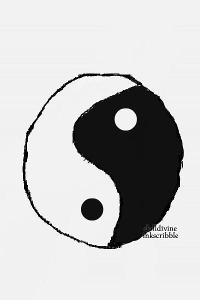 Yin yang ~ The good, the bad. The good in the bad,