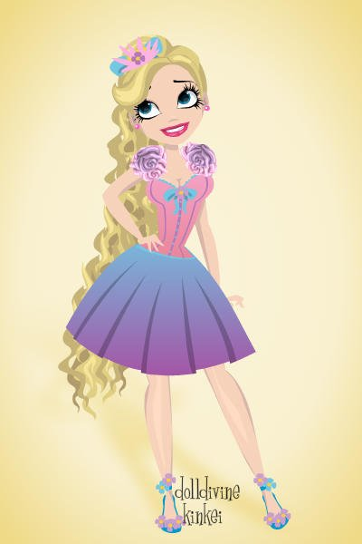 Pin up iris towers eah oc by music lover modern fashion dress up