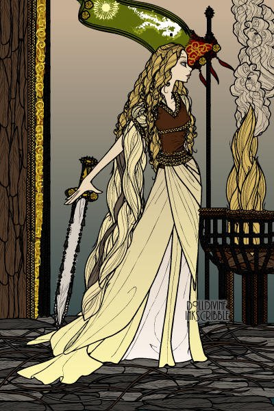 The White Lady of Rohan ~