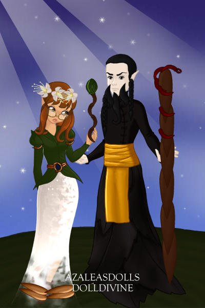 Malistaire and Sylvia Drake - Wizard101 ~ by Rowena