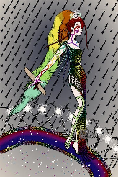 Iris, Goddess of the Rainbow ~ Requested by RandomAwesomenes #request #
