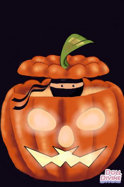 Happy Halloween~ ~ Secret pumpkin gift for @epicninjagirl!