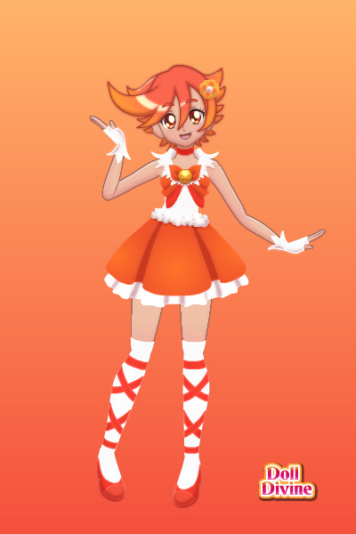 Glitter Orange(Glitter Rainbow) ~ Name:SunSet,