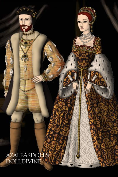 James V of Scotland & Mary of Guise ~
