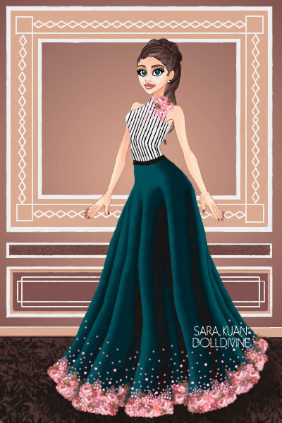 Spring Couture ~ <p>For Falak's Fashion Design House Cont