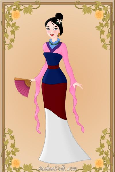 mulan pink dress pictures - 400×600