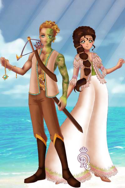 Ahmir and Saffira ~ Meet Ahmir and Saffira, the pirate king