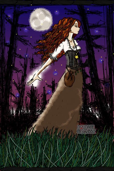 Do you feel the power tonight? ~ #Fantasy #Witch #Power #Magic