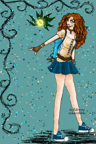 Disney High - Merida ~ #Disney #DisneyHigh