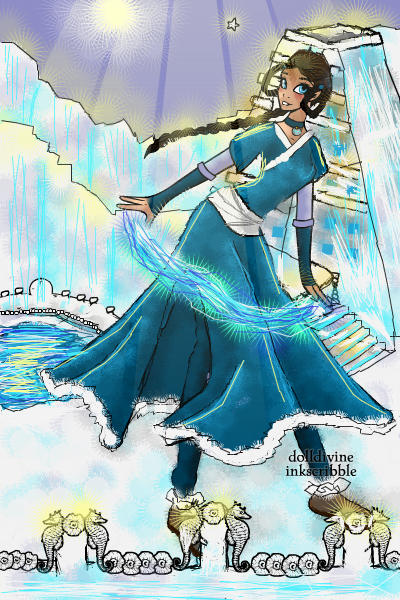 Katara ~ #AvatarTheLastAirbender #Waterbending #I