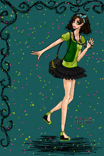Disney High - Drizella ~ One of Cinderellas evil stepsisters.
