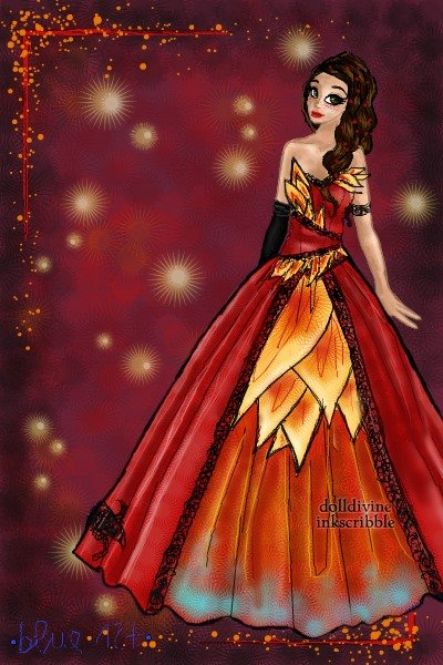 la flamme ~ Well, this is lost in a Katniss inspired